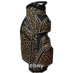 Golf Girl Ladies 14 Way Cart Bag Leopard Skin