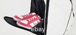 HONMA 2020 CB12018 Unisex Golf Wheeled Caddie Cart Bag 9inch, 7Way, PU, 4.3kg-White