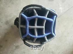 I New Ladies / Lady Cobra cart bag golf bag Blue 14 Divider with rain cover