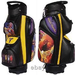 KOBE BRYANT TRIBUTE MAMBA MENTALITY GOLF CART BAG Fully Customizable