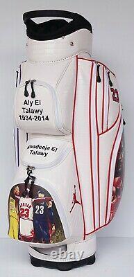 Kobe Bryant + Michael Jordan Golf Bag Your Name, Your Logo, Your Colors