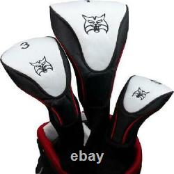 Lynx Power Tune Men's Complete 11-Piece Golf Club Set with Cart Bag, Right Hande