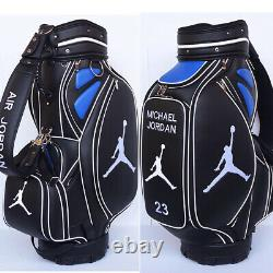 MICHAEL JORDAN GOLF TOUR BAG Fully Customized with your color, logo and name