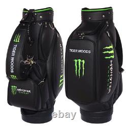 MONSTER GOLF TOUR STAFF BAG Fully Customized with your name, logo and colors