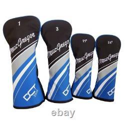 MacGregor Golf DCT3000 Premium Mens Golf Clubs Set, Left Hand, Cart Bag