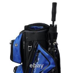MacGregor Golf VIP Deluxe 14-Way Golf Cart Bag, 9.5 Top