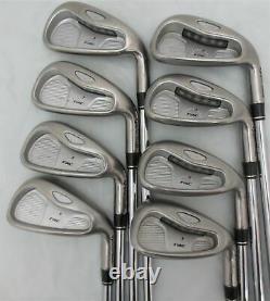 Mens Complete TaylorMade Golf Set Driver Wood Hybrid Irons Putter Cart Bag Reg