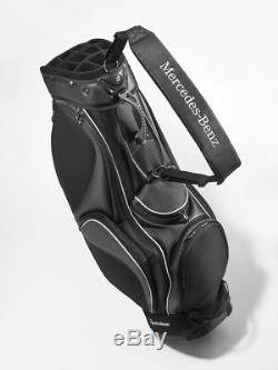 Mercedes-Benz 2018 Collection TaylorMade Golf-Cart Bag Black B66450105 Genuine