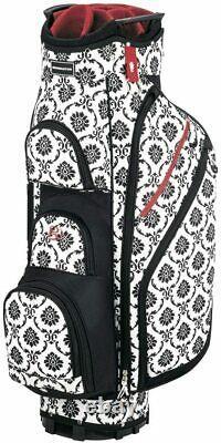 Miss Bennington Lite Cart Bag, Brand New Black/Floral