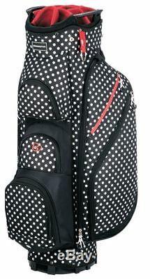 Miss Bennington Lite Golf Cart Bag, Brand New Polka Dot
