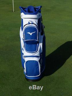 Mizuno BR-D4c Cart Bag 2020 Staff Colors Blue/White 11315