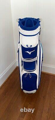 Mizuno Golf 2020 Pro Cart Bag 14-Way Top Staff Blue
