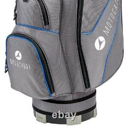 Motocaddy Club Series 14-WAY Golf Trolley/Cart Bag Blue NEW! 2021