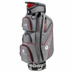 Motocaddy Club Series 14-WAY Golf Trolley/Cart Bag Red NEW! 2021