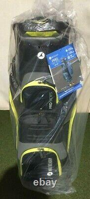 Motocaddy Pro Series Cart Bag In Charcoal/Lime BRAND NEW BOXED
