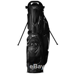 NEW 2020 Nike Air Hybrid Carry Stand Cart Golf Bag 14 Way Black/White SOLD OUT