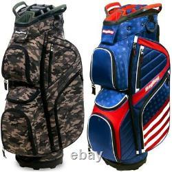 NEW BagBoy Golf 2021 CB-15 Cart Bag 15-way Top Bag Boy Pick the Color