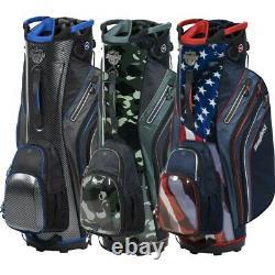NEW BagBoy Golf Shield Cart Bag 14-way Bag Boy You Pick the Color