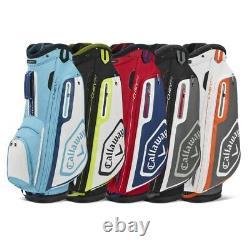 NEW Callaway Golf 2020 Chev 14 Cart Bag 14-way Top Pick the Color