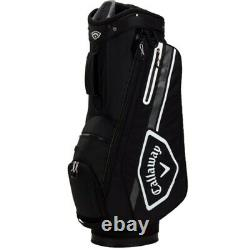 NEW Callaway Golf 2021 Chev 14 Cart Bag 14-way Top Black / White / Charcoal