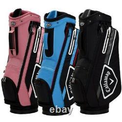 NEW Callaway Golf 2021 Chev 14 Cart Bag 14-way Top You Pick the Color