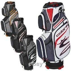 NEW Cobra Golf 2021 Ultralight Cart Bag 14-way You Pick the Color