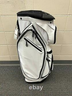 NEW Custom TaylorMade Catalina White Cart Bag 15 Divider Country Club Overrun