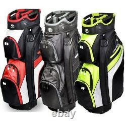 NEW Hot-Z Golf 4.0 Cart Bag 10 14-Way Top Pick the Color