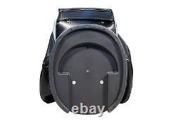 NEW Motor Power and Caddy 14 Way Divider Cart/Trolley Golf Bag Black/Blue