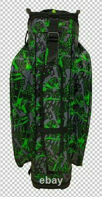 NEW RADAR C140 100% Waterproof Smart dry Golf Cart Bag Ultralightweight Green