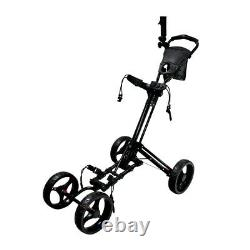 NEW Revelation Smooth Ride Push / Pull Cart for Golf Bag 4 Wheels