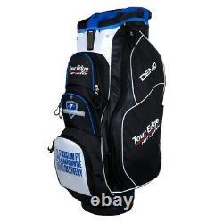 NEW Tour Edge Golf Hot Launch Demo Cart Bag 16-Way Top Black / White / Blue
