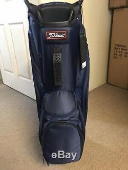 New 2020 Titleist Cart 14 Lightweight Cart Bag Navy Blue