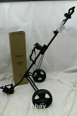 New Bag Boy M340 Push Pull Golf Cart Bag Carrier BagBoy Black Charcoal M-340