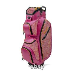 New Burton Golf- Ladies LDX Cart Bag Pink/Tangerine/Tropic