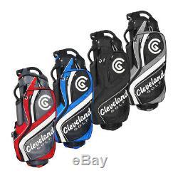 New Cleveland Golf Cart Bag 14-Way Divider 3-Way Grab Handle Pick Color
