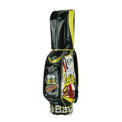 New Guiote Beer Golf staff bag Cheers model caddie cart bag comes with Rainhood