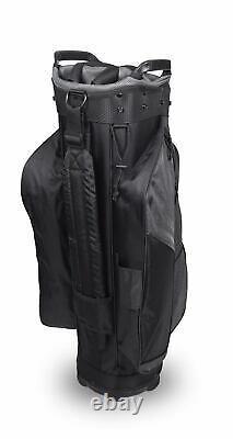 New Hot-Z Golf 2020 6.0 Cart Bag Gray/Black