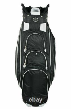 New Hot-Z Golf 4.5 Cart Bag Black/Black