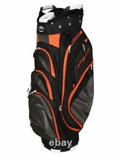 New Hot-Z Golf 4.5 Cart Bag Black/Gray/Orange