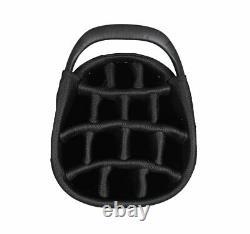 New Hot-Z Golf Ladies 3.5 Lace Cart Bag Black/White