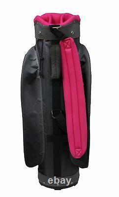 New Hot Z Golf Ladies HTZ Sport Cart Bag Pink Plaid