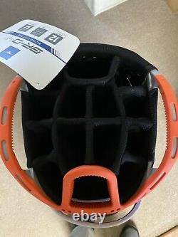 New Mizuno BRD 4C 14 Way Cart Bag / Black Grey Orange