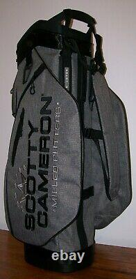 New Scotty Cameron Heather Gray Cart Bag 7 Point Crowns Golf Circle T 2019