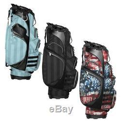 New Subtle Patriot Golf Cart Bag 15-way Top Salesman Samples Choose Color