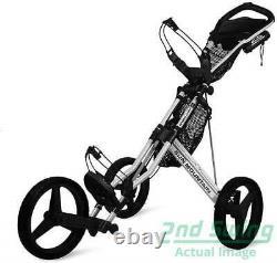 New Sun Mountain Speed Cart GX Push Pull Golf Cart Silver FREE SHIPPING