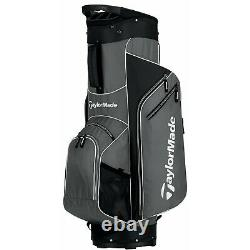 New TaylorMade Golf- 2016 5.0 Cart Bag Gray/White