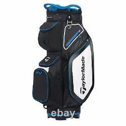 New TaylorMade Golf- 2020 CART 8.0 US Bag Black/White/Blue