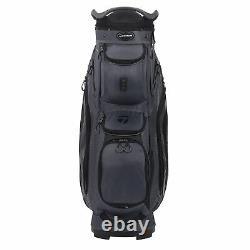 New TaylorMade Golf- 2020 CART 8.0 US Bag Charcoal/Black