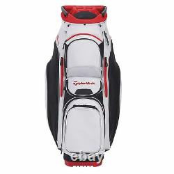 New TaylorMade Golf- 2020 SUPREME CART US Bag Silver White/Black